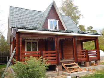 Дом из бруса 1907