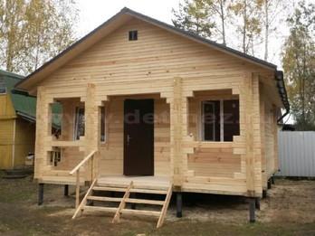 Дом из бруса 2087