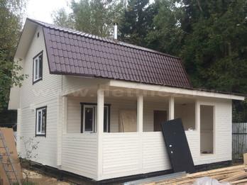 Дом из бруса 2151
