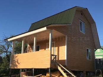 Каркасный дом 2100