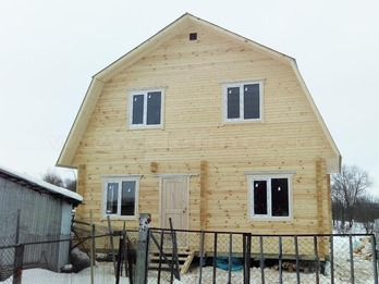 Дом 146 из бруса