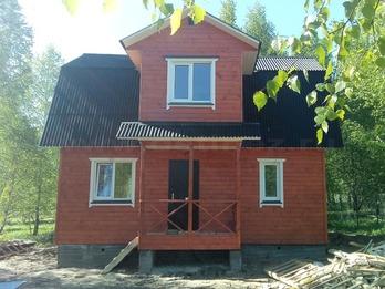 Каркасный дом 2082