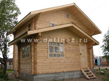 Дачный дом 541 из бруса