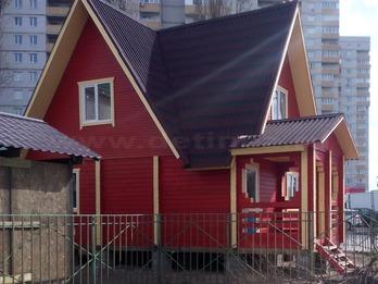 Дом из бруса 1228