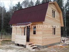 Каркасные дома 5х6м