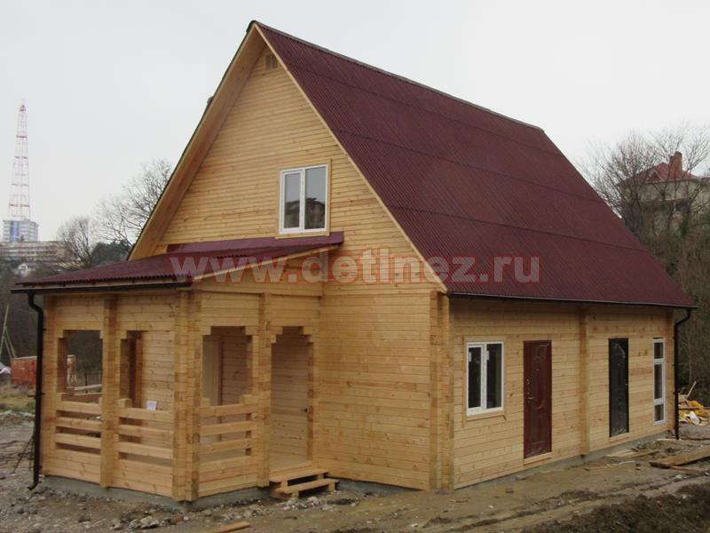 Каркасные дома 8х10м