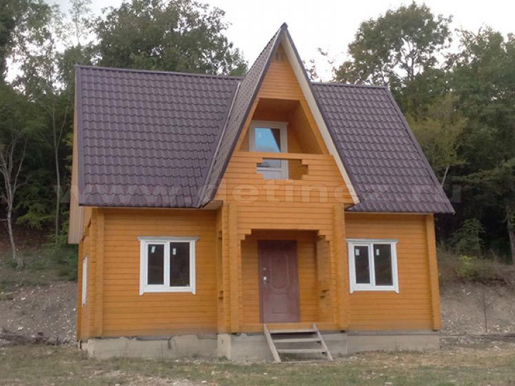Дом 6х9м (90м²) на участке 7 соток