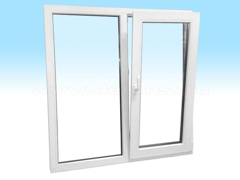 Пластиковые окна 1200х1200мм