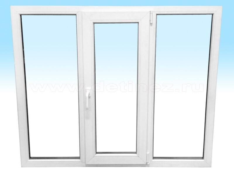 Пластиковые окна 1500х1200мм