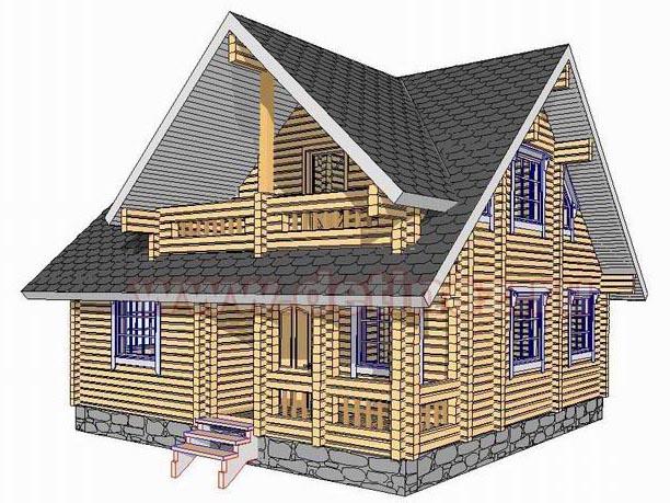 Дом из бруса 1388