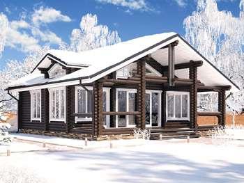 Индивидуальные проекты домов из бревна