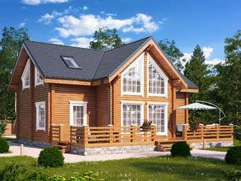 Индивидуальные проекты домов из бруса