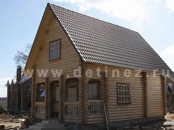 Дачный дом из бревна 23