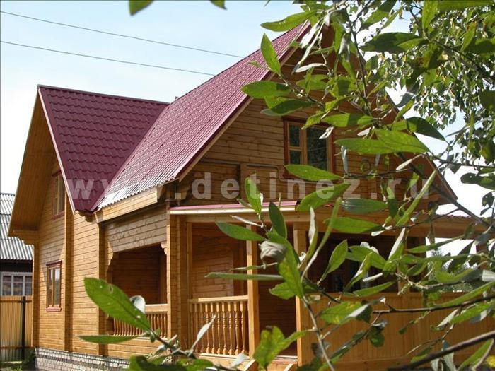 Дом 110 из клееного бруса
