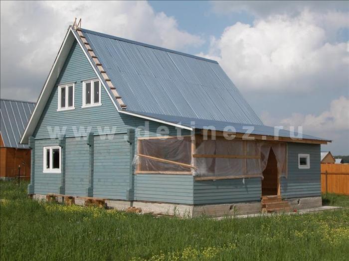 Дом 133 из бруса