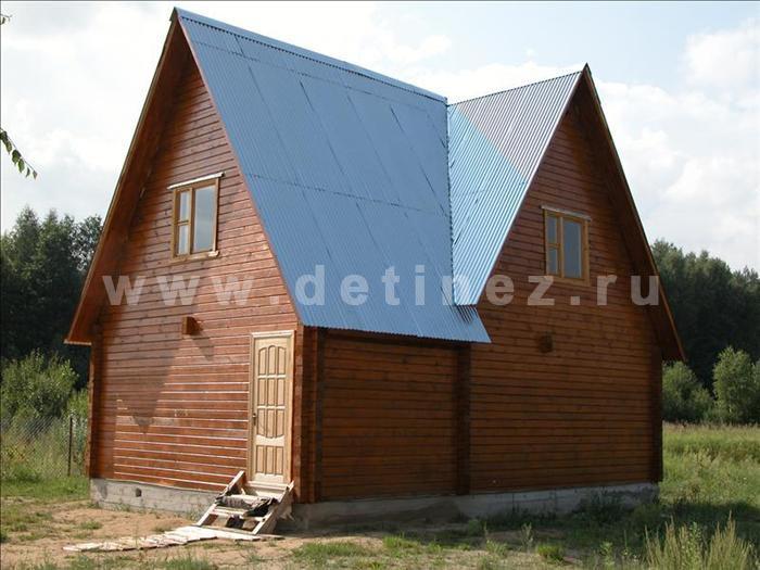 Дом 135 из клееного бруса