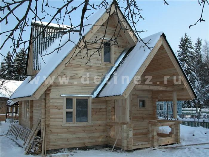 Дом 169 из бруса