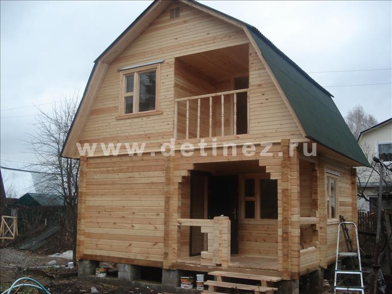 Дом 1044 из бруса