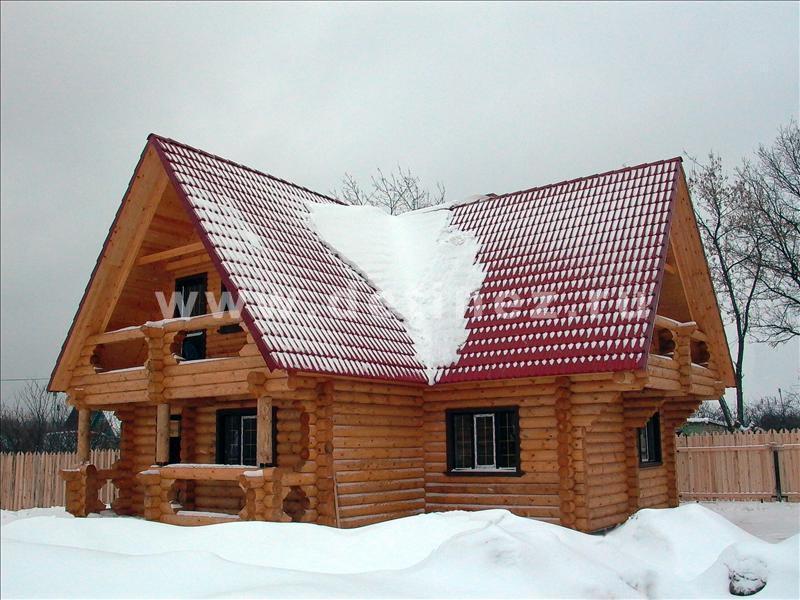 Дом 1050 из бревна