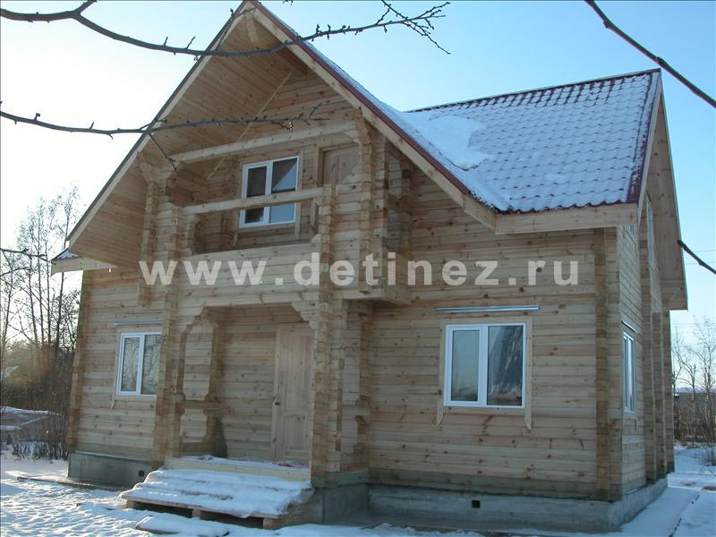 Дом из бруса 1087