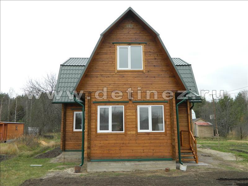 Дом из бруса 1160