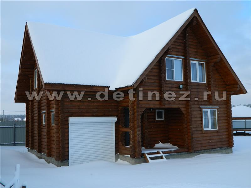 Дом 1187 из бревна
