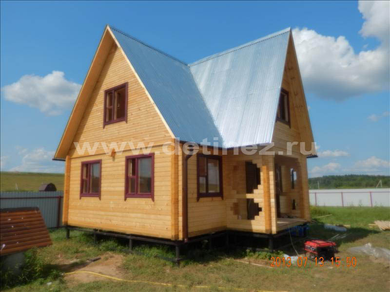 Дом из клееного бруса 1254