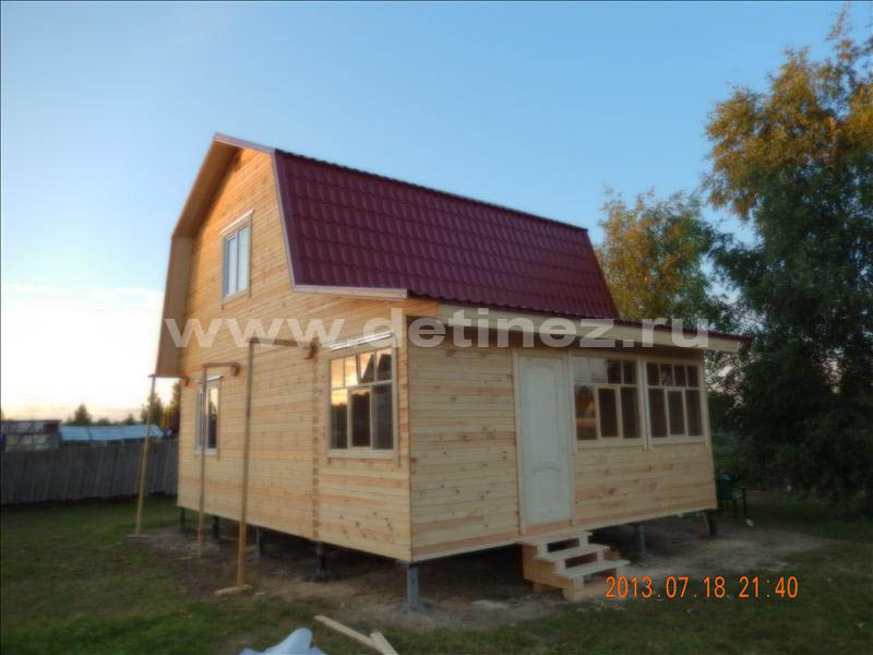 Дом из клееного бруса 1266