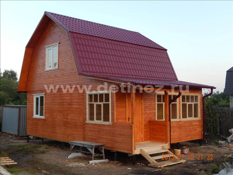 Дом из клееного бруса 1276