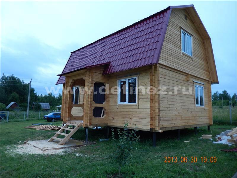 Дом из клееного бруса 1277