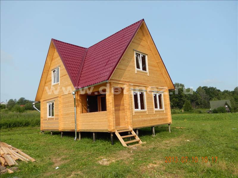 Дом из клееного бруса 1280
