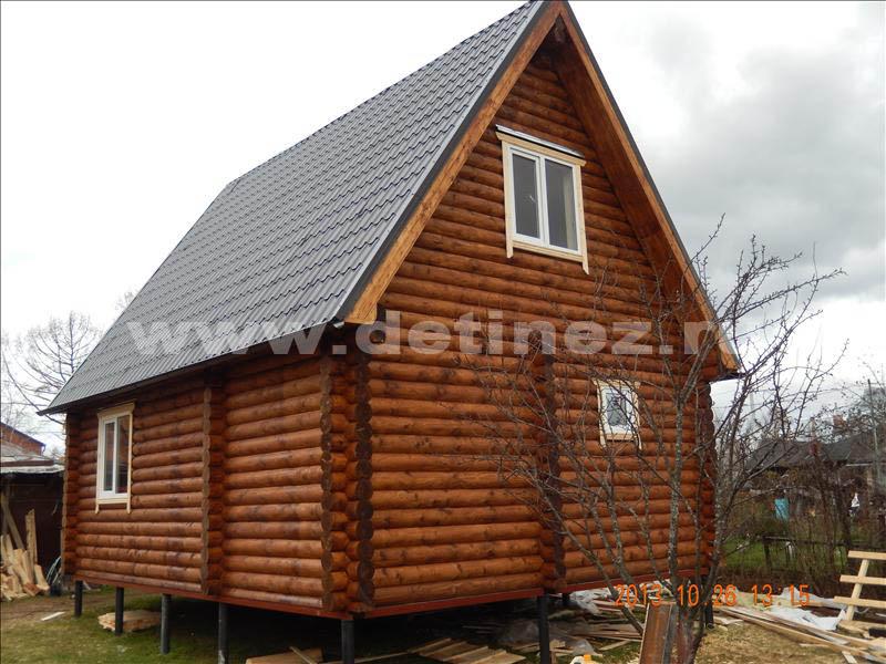Дачный дом 1303 из бревна