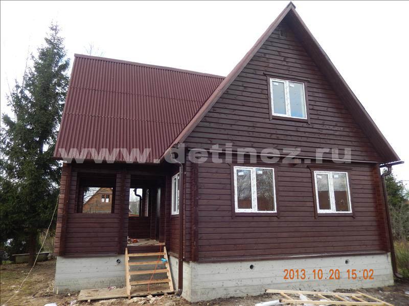 Дом 1305 из клееного бруса