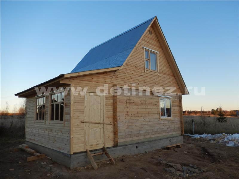 Дом 1316 из бруса