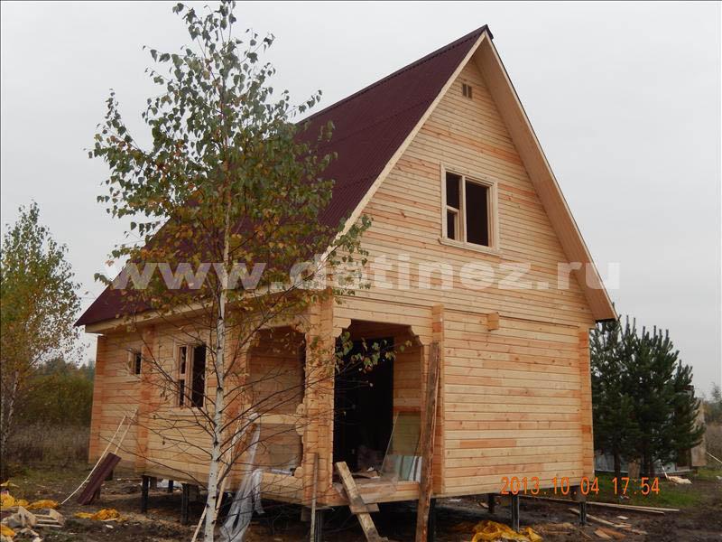 Дом 1318 из бруса