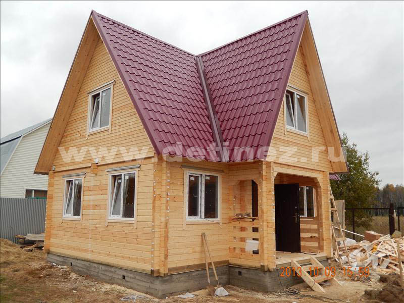 Дом 1330 из клееного бруса