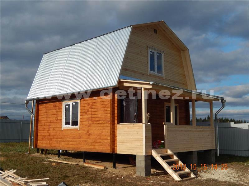 Дом 1335 из бруса