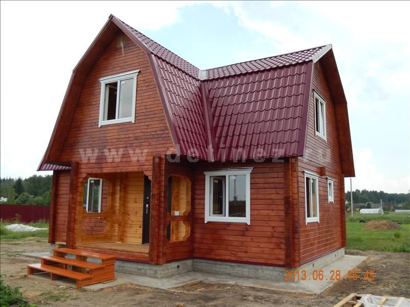 Дом из клееного бруса 1204