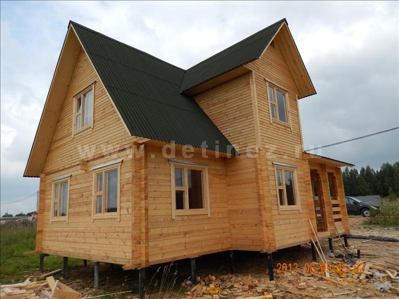 Дом из клееного бруса 1212