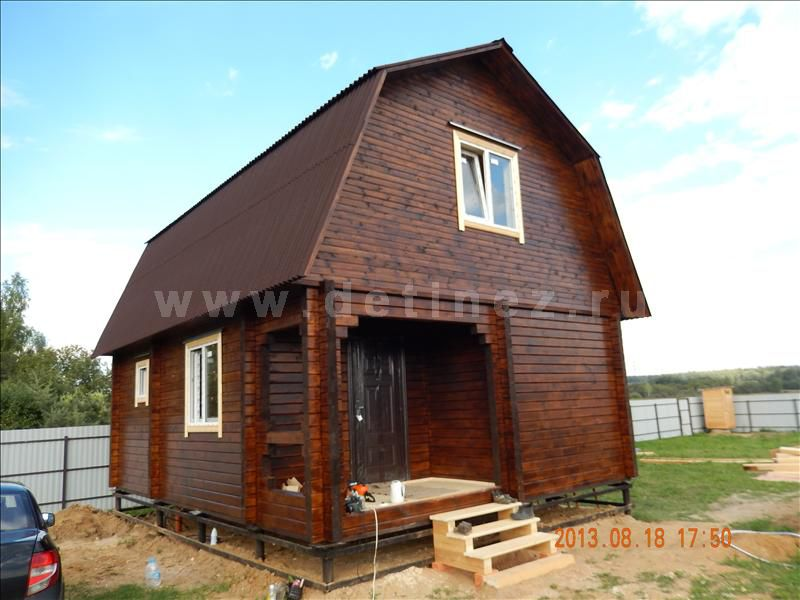 Дом из клееного бруса 1214