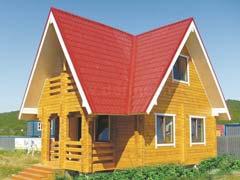 Фото 1469 - дом из бруса 6х9м