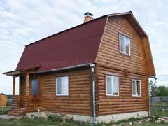 Дачный дом из бревна 1471