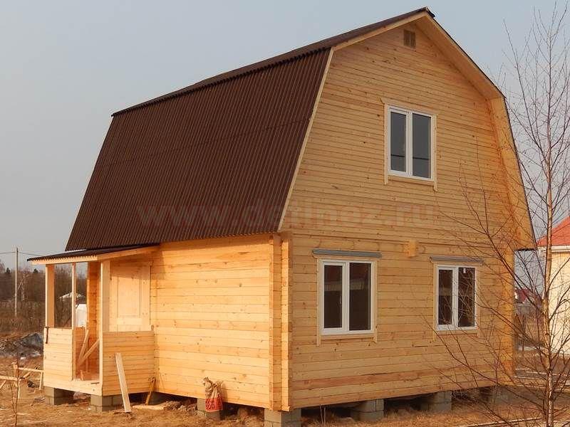 Дом из бруса 1498