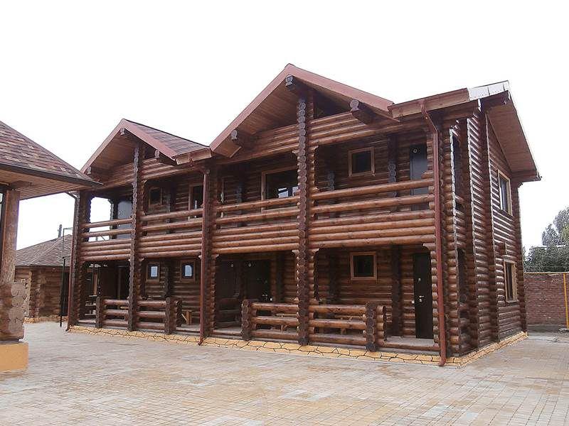 Гостиница из бревна 1508