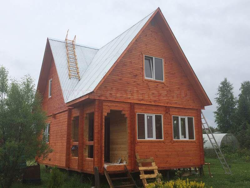 Дом из бруса 1519