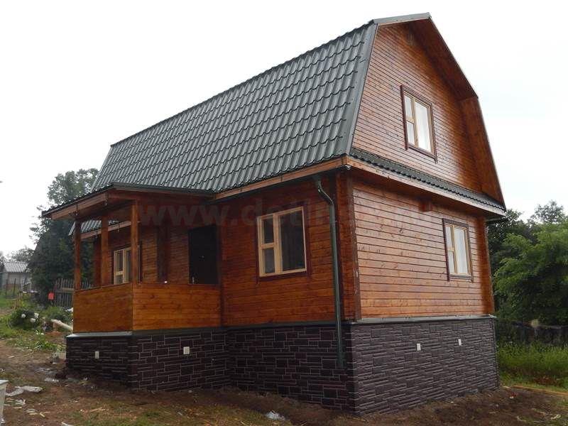 Дом из бруса 1528