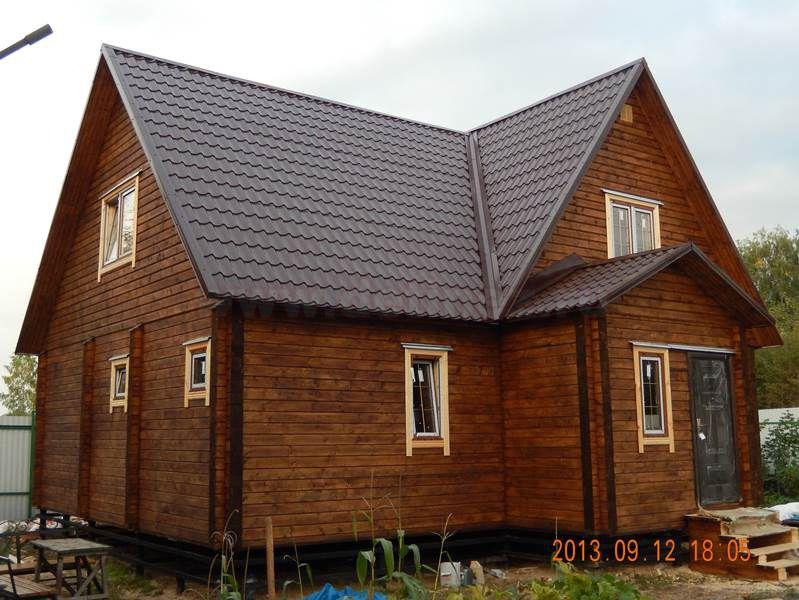 Дом из бруса 1560