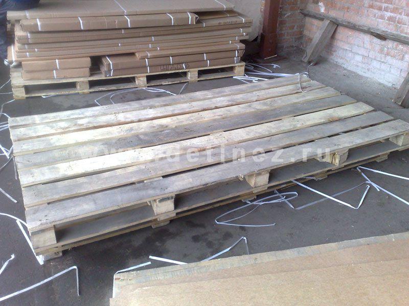 Поддоны деревянные 1200х2400