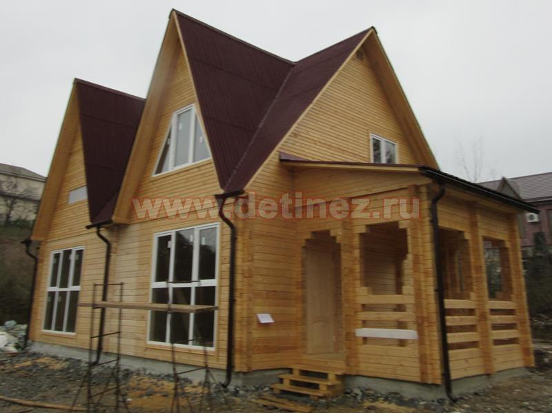 Дом из бруса 1382