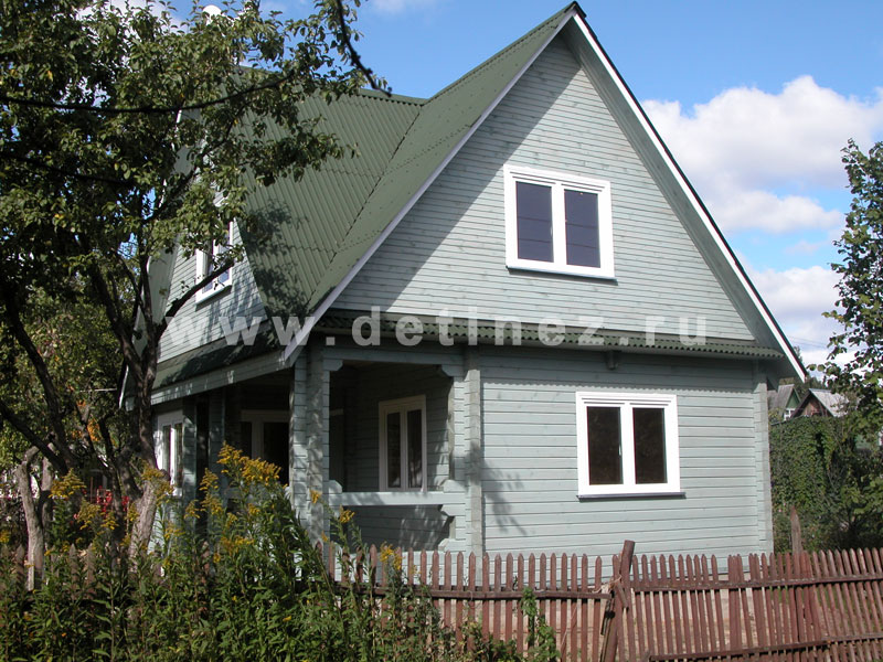 Дом из бруса 524